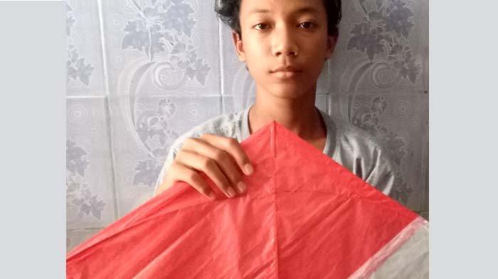Uang dari Layang-layang Pandemi, Siswa SMP Al Falah Darussalam Praktik Entrepreneur dari Rumah