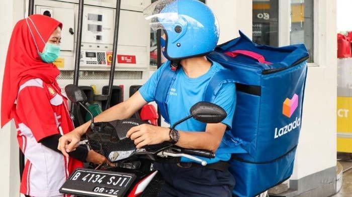 Lazada Logistics Bekerjasama dengan Shell Indonesia Bantu Mobilitas Mitra Kurir lebih Aman dan Andal