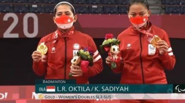 Biodata Leani Ratri Oktila dan Khalimatus Sadiyah Raih Medali Emas Badminton Paralimpiade Tokyo 2020