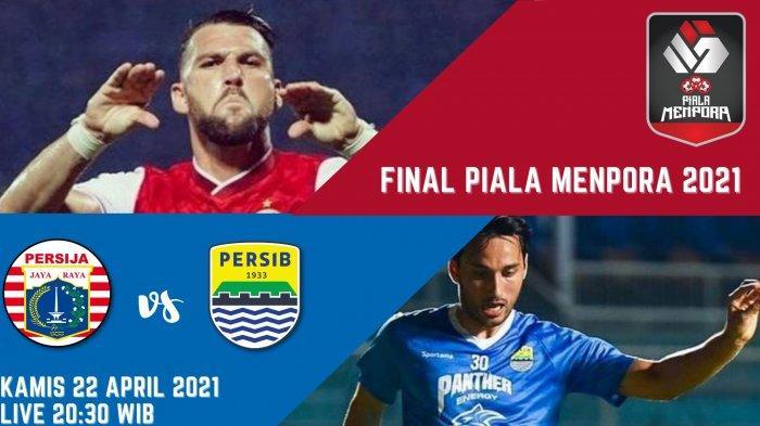 Prediksi Skor Persija vs Persib Bandung di Final Piala Menpora 2021 Leg 1: Mulai Jam 20.30 WIB