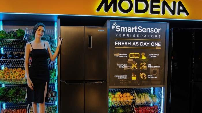Modena Luncurkan Kulkas Seri Baru untuk Masyarakat Urban, Pakai Teknologi Smart Sensor Refrigerators
