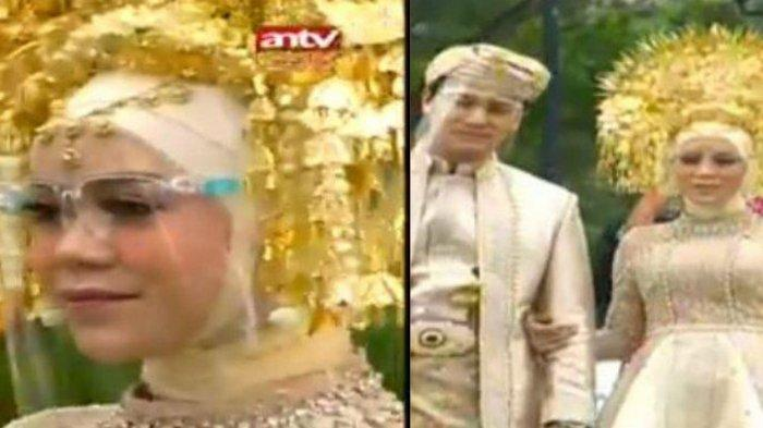 Cantiknya Lesti Kejora di Acara Adat Minang dengan Rizky Billar, Penampilan Mewah Pakai Suntiang