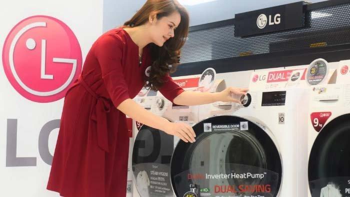 LG Pasarkan Pengering Pakaian Berteknologi Dual Inverter HeatPumpyang Hemat Energi dan Sehat