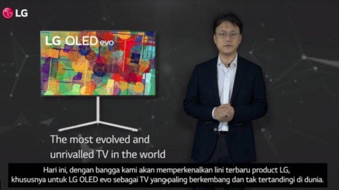 TV LG Seri OLED evo Mulai Dipasarkan di Indonesia
