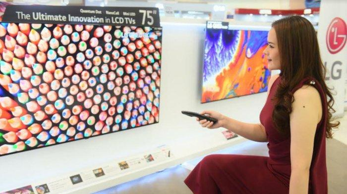 PT LG Electronics Indonesia Resmi Pasarkan LG QNED Mini LED TV di Indonesia
