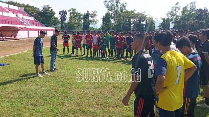 Jelang Liga 3 Jawa Timur, Tuntaskan Pembenahan Stadion Menak Sopal Kabupaten Trenggalek