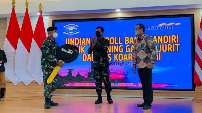 Bank Mandiri Apresiasi Nasabah Payroll di Koarmada II dengan Undian Berhadiah Utama Motor