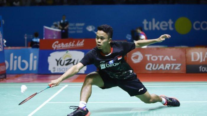 Link Live Streaming China Open 2019 Petang ini Jam 18.45 WIB, 7 Perwakilan Indonesia Berjuang