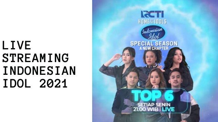 Link live streaming Indonesian Idol 2021 Spektakuler Show 8
