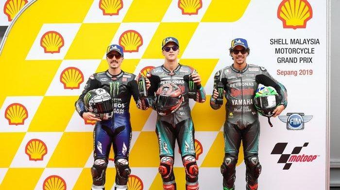 Link Live Streaming MotoGP Malaysia 2019, Minggu 3 November Jam 14.00, Langsung dari Sirkuit Sepang