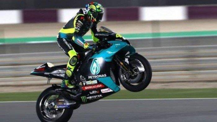 Link Live Streaming MotoGP Qatar 2021: Mulai Jam 00:00 WIB, Ini Posisi Start Valentino Rossi