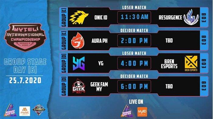 Link Live Streaming Mytel International Championship Hari Ini, Sabtu 25 Juli 2020: Onic vs RSG
