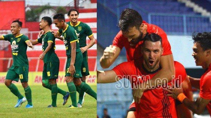 LINK LIVE Streaming Persebaya Surabaya vs Persija Jakarta di MNC, Final Piala Gubernur Jatim 2020