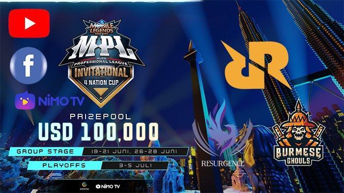 Link Live Streaming Playoff MPL Invitational 4 Nation Cup, Minggu 5 Juli 2020, RRQ di Grand Final
