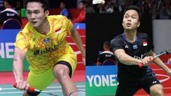 Link Live Streaming Semifinal Indonesia Masters, Sabtu 17 Januari 2020 Jam 13.30, Disiarkan di TVRI