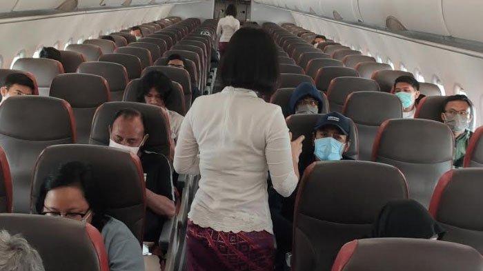 Cegah Penyebaran Virus Corona, Lion Air Group Atur Jarak Aman Penumpang Dalam Pesawat