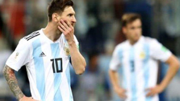 Hasil Piala Dunia 2018 Nigeria vs Argentina, Skor Sementara 0-0, Tim Tango di Ujung Tanduk