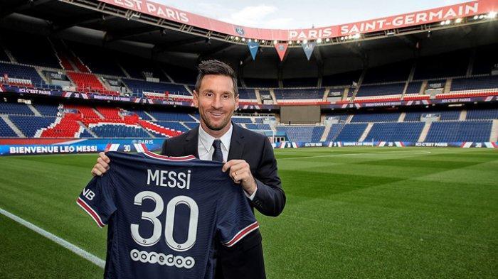 Derita Lionel Messi di PSG, Belum Cetak Gol, Kini Cedera, Sempat Tolak Jabat Tangan Pelatih