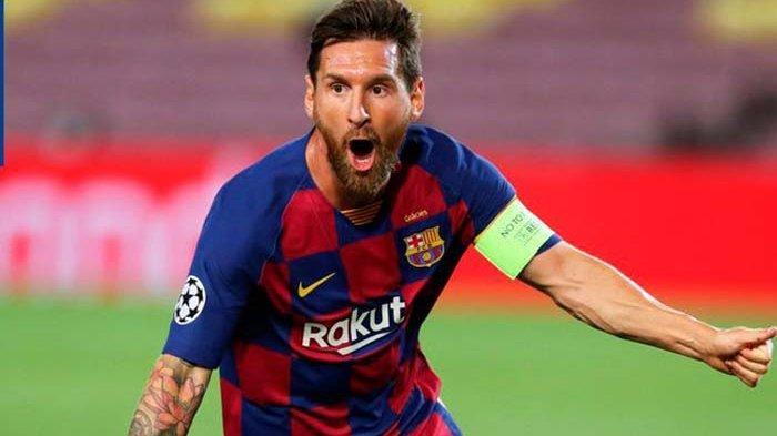 Messi masih menunjukkan konsistensinya di 16 besar Liga Champions