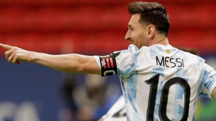 Argentina Vs Uruguay 3 -0, Messi Catat Rekor Striker Tersubur Sepanjang Sejarah Conmebol, Pele Lewat
