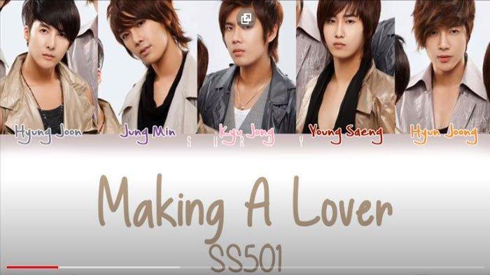 Lirik dan Chord Lagu Making A Lover - SS501 yang Viral di TikTok, 'Sesange Sorijilleo I Love You'