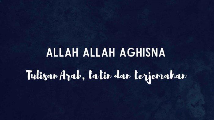 Lirik dan Arti Sholawat Allah Allah Aghisna Ya Rasulullah Versi Nazwa Maulidia
