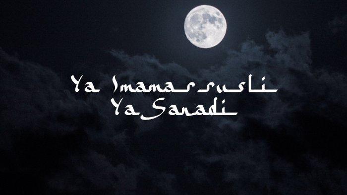 Lirik Ya Imamarrusli versi Muhammad Hadi Assegaf Lengap Arab, Latin dan Terjemahan