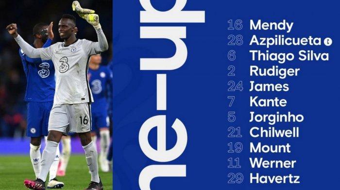 LIVE SCTV Susunan Pemain Man City vs Chelsea di Final Liga Champions: Kante & Edouard Mendy Starter