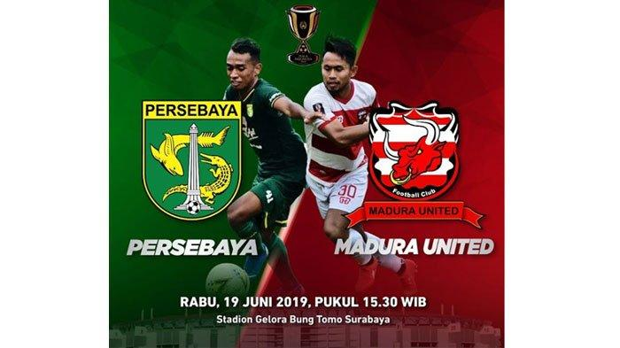 LIVE Streaming Jawapos TV Persebaya Surabaya vs Madura United Babak 8 Besar Piala Indonesia