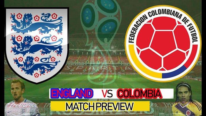 Link Live Streaming Piala Dunia 2018 Inggris vs Kolombia di Trans TV Bisa Diperoleh dengan Cara ini