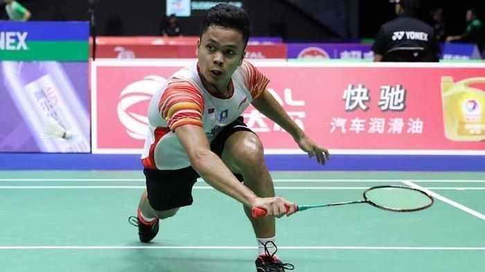 Live Streaming Piala Sudirman 2019 Indonesia vs Denmark Jam 17.00 WIB, Ginting Diharap Sumbang Poin