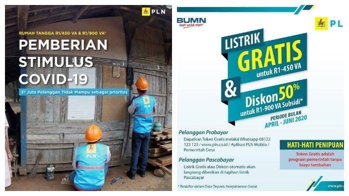 Cara Dapatkan Token Listrik Gratis PLN via Login www.pln.co.id, Pelanggan 1.300 VA Bisa Disubsidi