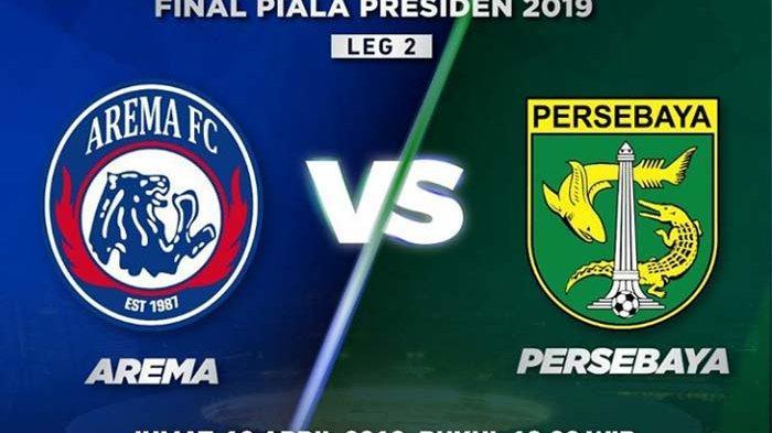 Inilah Susunan Pemain Persebaya Surabaya vs Arema FC Live Steraming Indosiar Kick Off 20.00 WIB