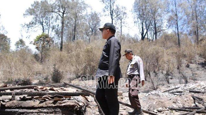 Gunung Ijen Banyuwangi Darurat Kebakaran, Pemprov Jatim akan Datangkan Helikopter Water bombing