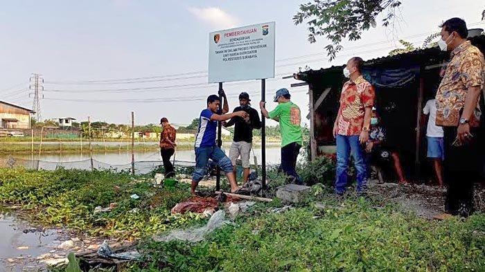 Satgas Anti Mafia Tanah Polrestabes Surabaya Bongkar Praktik Penyerobotan Tanah di Manukan
