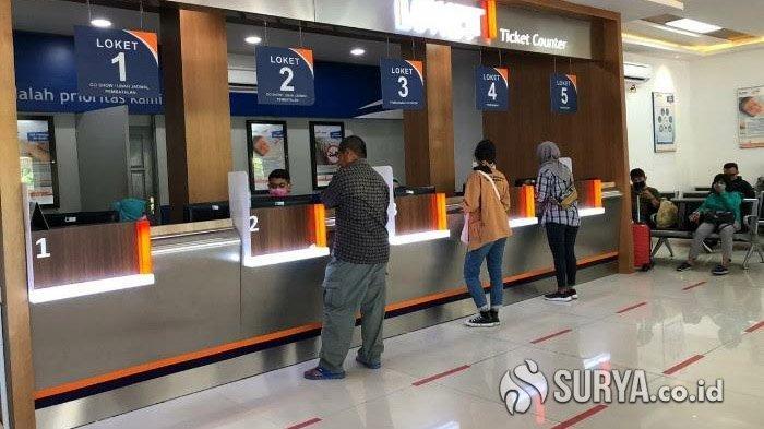 PT KAI Daop 8 Surabaya Batalkan Perjalanan Kereta Api Jarak Jauh, Uang Tiket Dikembalikan 100 persen