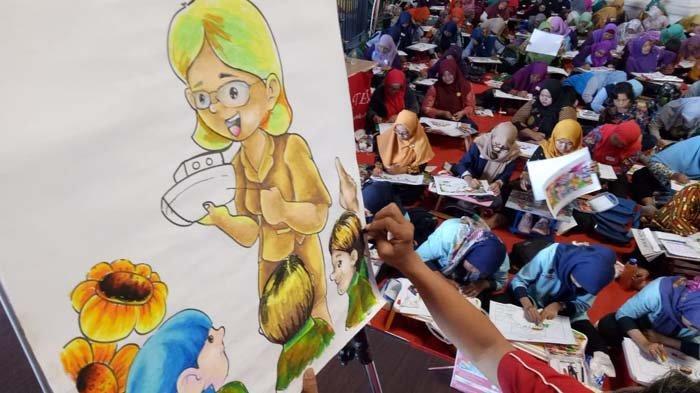 Apresiasi Guru Faber Castell Gelar Lomba Mewarnai Untuk Guru Tk Dan Paud Surabaya Surya