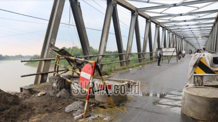 Perbaikan Jembatan Glendeng Penghubung Tuban-Bojonegoro Terkendala Anggaran