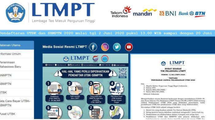 Ilustrasi - LTMPT UTBK SBMPTN 20201