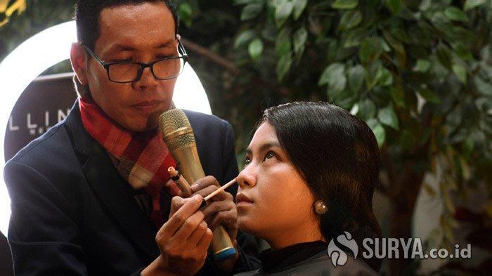 Bertema 'Glam Make Up Look' Luis Alfam Aplikasikan Warna Tanah Sebagai Tren 2020