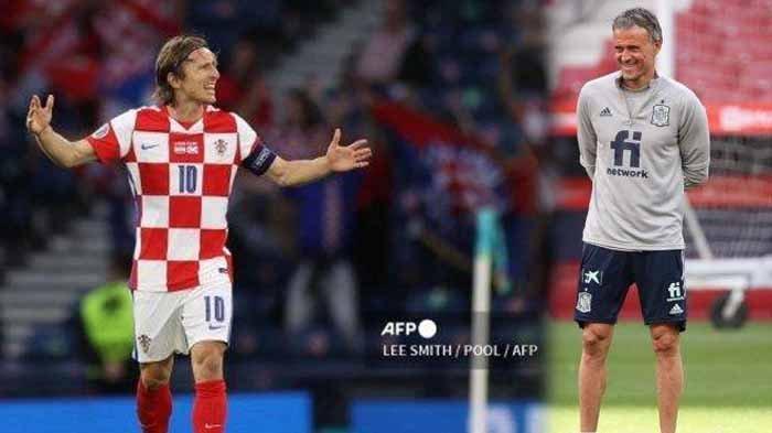 Bocor Strategi Enrique, Prediksi Skor Kroasia vs Spanyol Euro 2020, Incar Satu Pemain Andalan Lawan