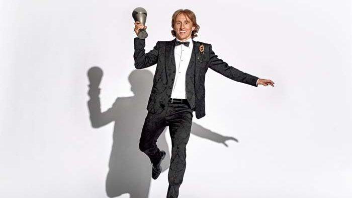 Luka Modric Jadi Pemain Terbaik Dunia dan Putus Dominasi Messi dan Ronaldo