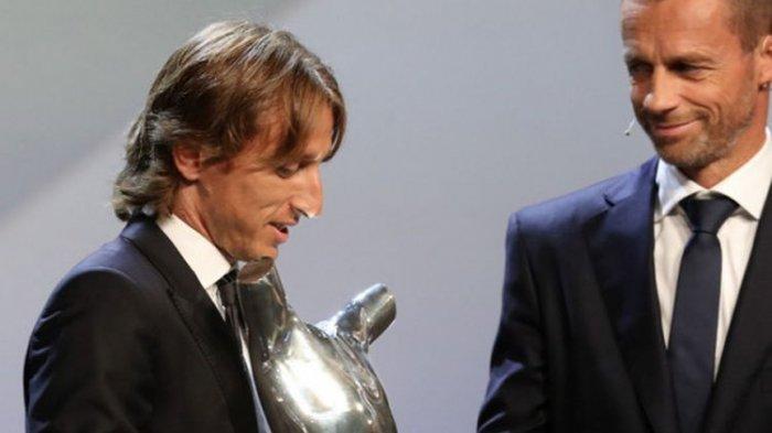 Modric sedang Berada di Puncak Karir setelah Kalahkan Ronaldo dan Salah di Eropa