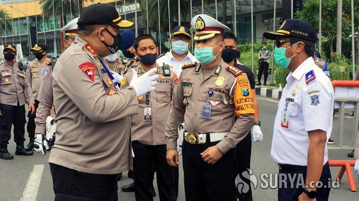 Hari Pertama PSBB Surabaya, Kapolda Jatim: Banyak Warga Belum Paham Aturan PSBB