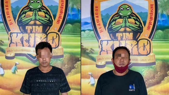 Dua Pria Lumajang Diciduk Polisi saat Asyik Nyabu di Pos Satpam, Mereka Terancam 12 Tahun Penjara