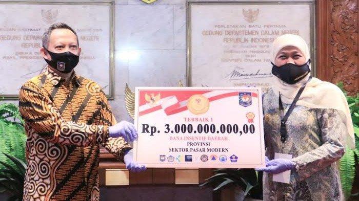 Lumbung Pangan Jatim Jadi Juara 1 Lomba Inovasi Daerah Penyiapan Era New Normal Sektor Pasar Modern