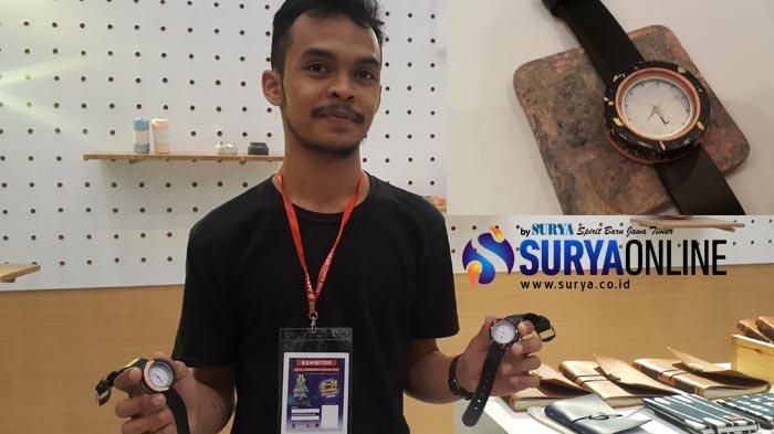 Luido, Jam Tangan Unik dari Olahan Lumpur Lapindo di Jatim Fair 2018