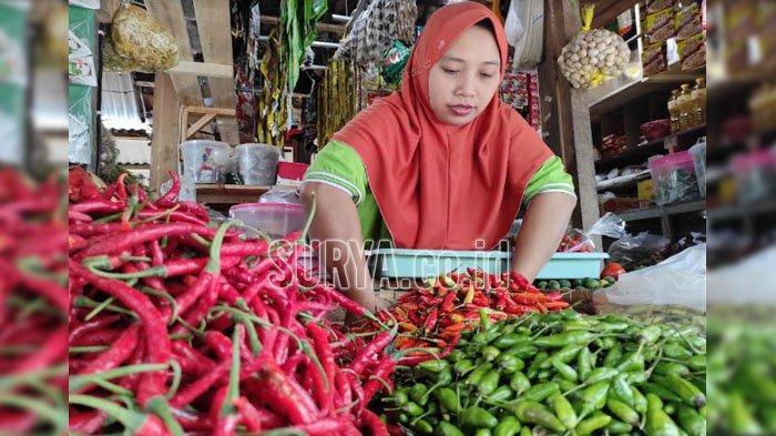 Harga Cabai Rawit di Kota Blitar Mulai Merangkak Naik, Kini Rp 20.000 Per Kilogram