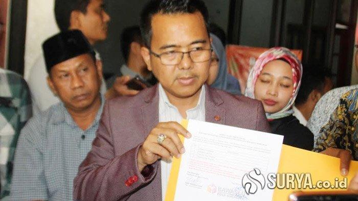 Dinyatakan Tak Lolos Pencalonan Independen Pilwali Surabaya 2020, M Sholeh-Taufik Mengadu ke Bawaslu