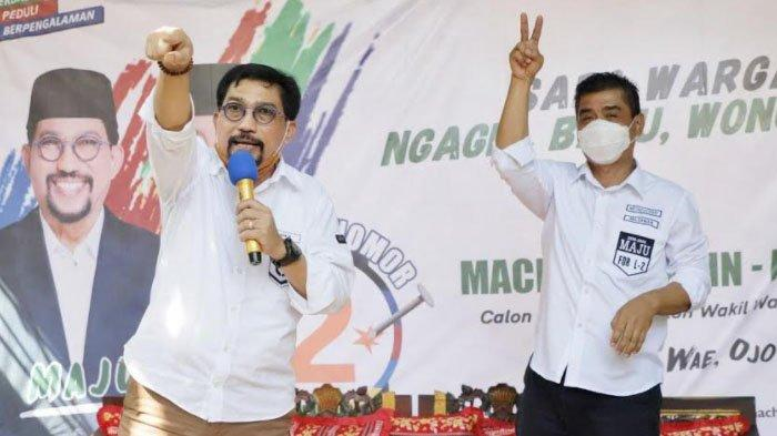 Pilwali Surabaya 2020: Jalan kaki, Machfud Arifin Nyoblos di TPS 25 Bareng Keluarga